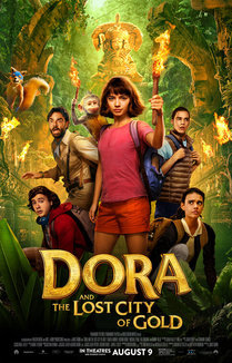 Widget dora lost city of gold movie review poster 1
