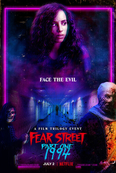 Fear Street Part One: 1994 movie poster