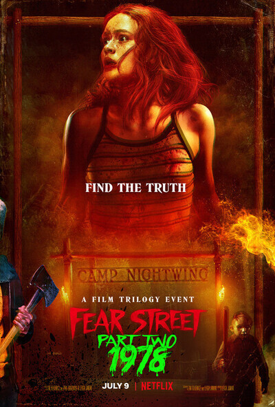 Fear Street Part Two: 1978 movie poster