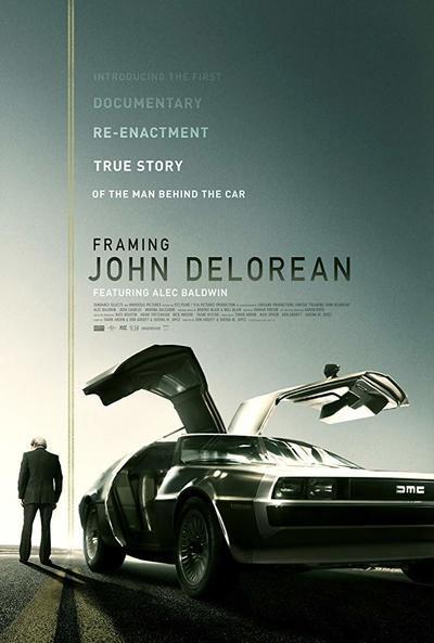 Framing John DeLorean movie poster