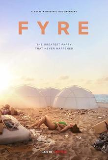 小部件Fyre海报