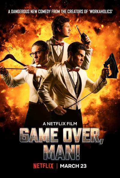 Game Over, Man! movie poster