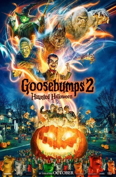 Goosebumps 2: Haunted Halloween movie poster