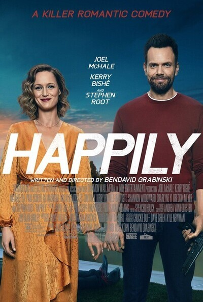 Happily movie poster