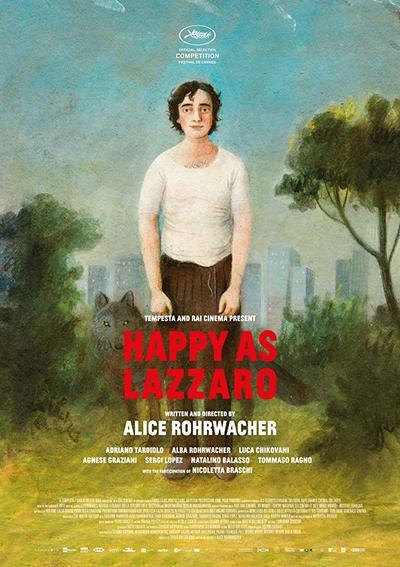Happy as Lazzaro movie poster