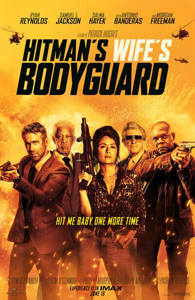 杀手的妻子的保镖电影海报