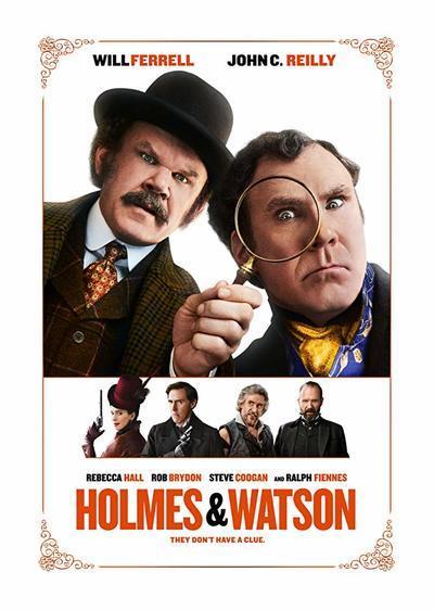 福尔摩斯和华生电影海报