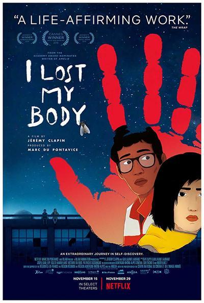 I Lost My Body movie poster