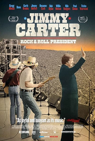 Jimmy Carter Rock & Roll President movie poster