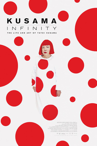 Kusama - Infinity movie poster