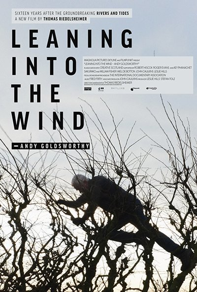 Leaning into the Wind: Andy Goldsworthy movie poster