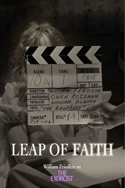 Leap of Faith: William Friedkin on The Exorcist movie poster