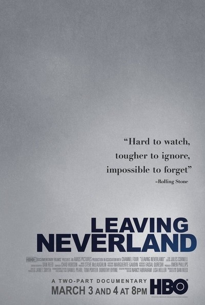 Image result for leaving neverland poster