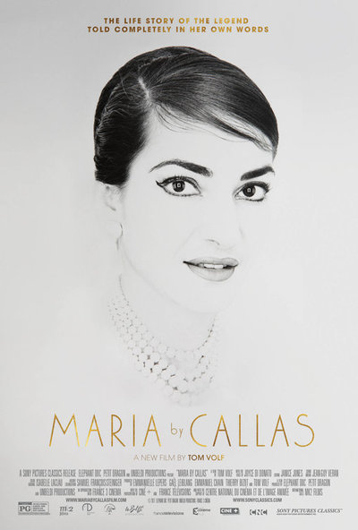 Maria by Callas movie poster