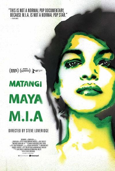 Matangi / Maya / M.I.A. Movie Poster