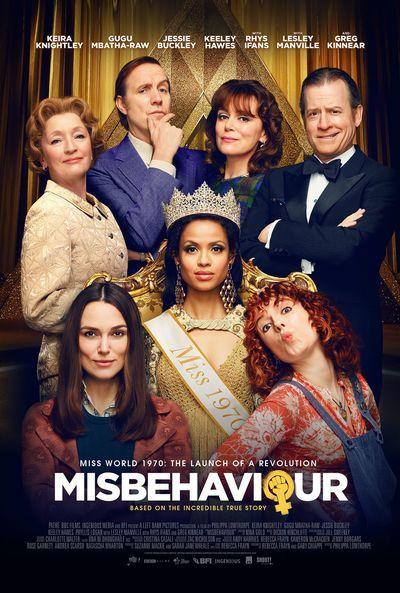 Misbehaviour movie poster
