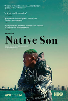 Widget native son poster