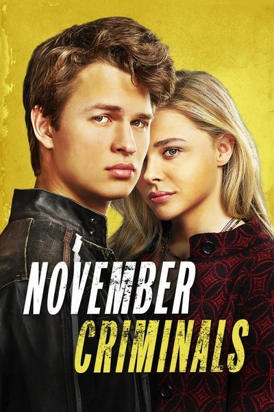 November Criminals movie poster