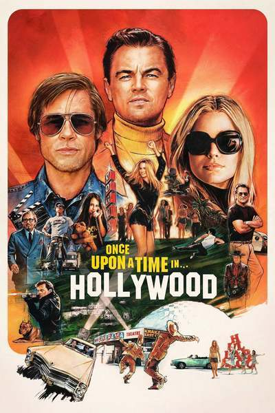 Once Upon a Time ... in Hollywood movie poster