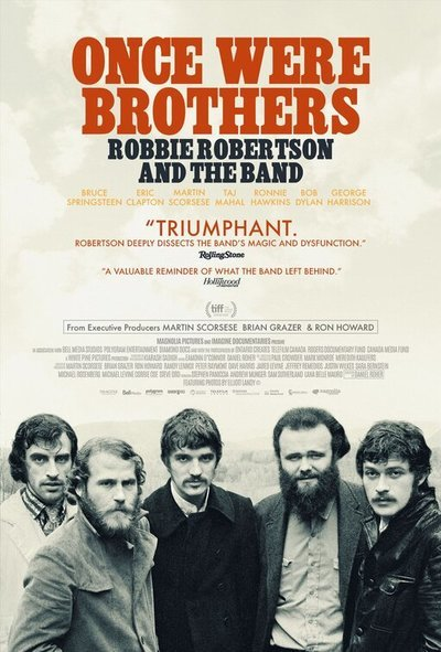 Once Were Brothers: Robbie Robertson and The Band movie poster