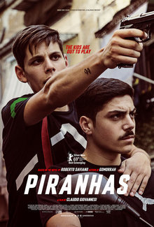Widget piranhas poster