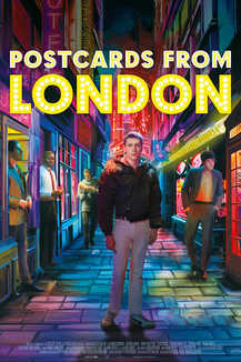 Widget postcards london poster