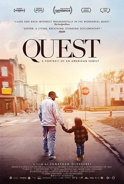 Quest movie poster