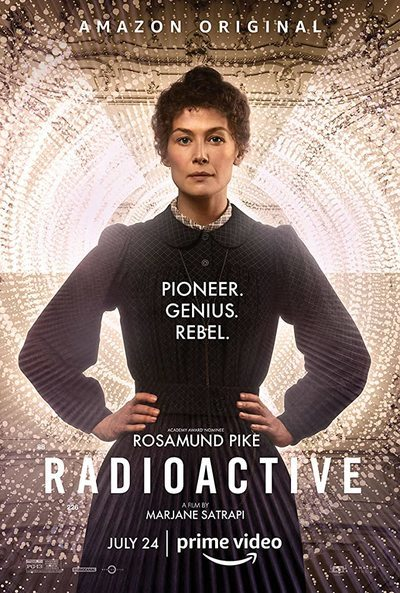 Radioactive movie poster