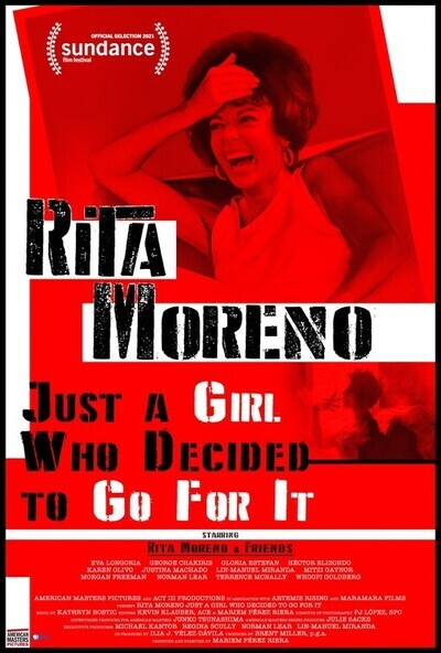 Rita Moreno: Just a Girl Who Decided to Go for It movie poster