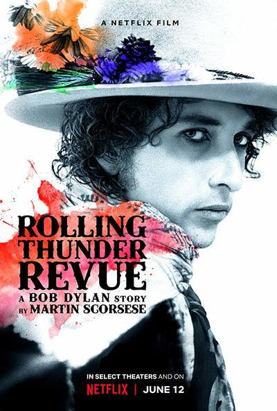 Rolling Thunder Revue: A Bob Dylan Story by Martin Scorsese Movie Poster