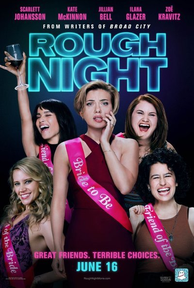 Rough Night movie poster