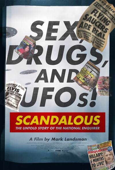 Scandalous: The True Story of the National Enquirer movie poster