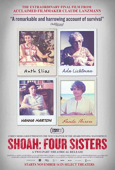 Shoah: Four Sisters movie poster