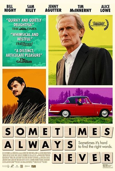Sometimes Always Never movie poster