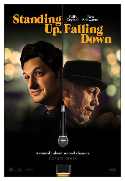 Standing Up, Falling Down movie poster