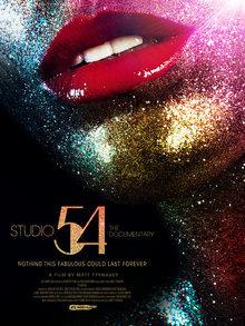 Widget studio 54 poster
