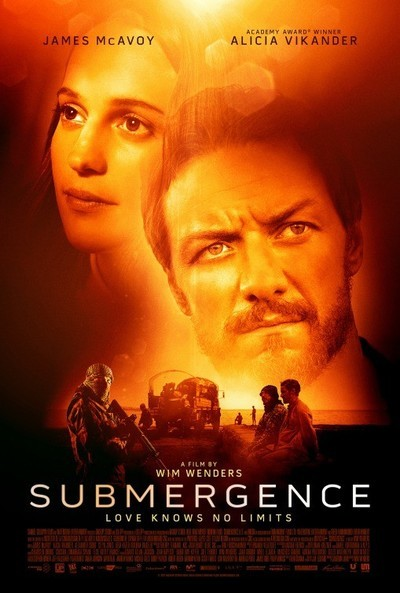 Submergence Movie Poster