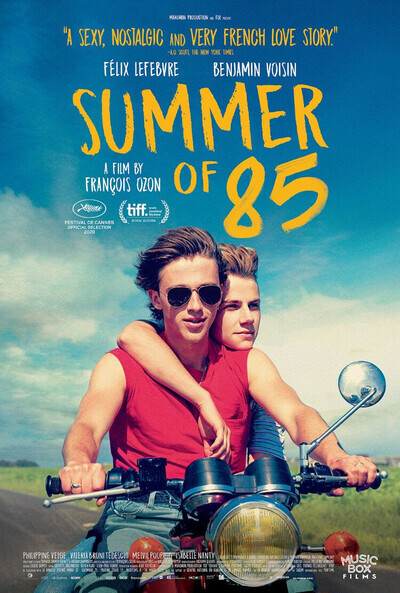 Summer of 85 movie poster