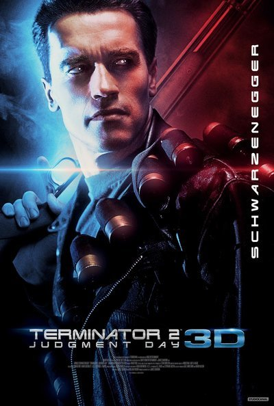 Terminator 2: Judgment Day 3D Movie Poster