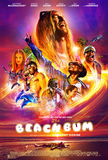 Widget beach bum poster
