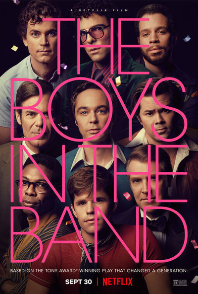 The Boys in the Band movie poster