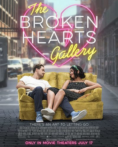 The Broken Hearts Gallery movie poster