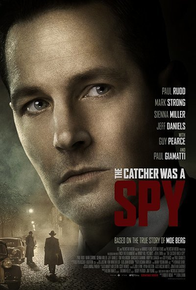 The Catcher Was a Spy movie poster