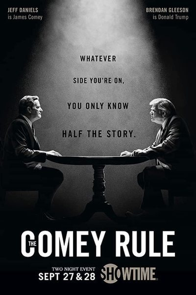 The Comey Rule movie poster