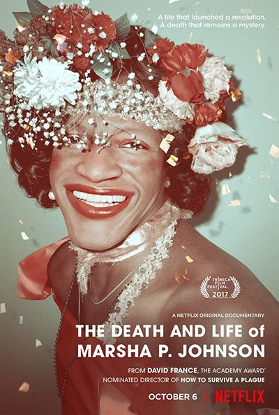 The Death and Life of Marsha P. Johnson movie poster