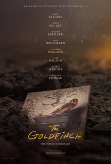 Widget goldfinch poster