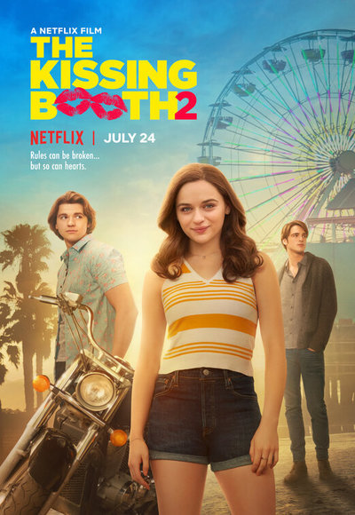 The Kissing Booth 2 movie poster