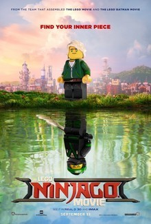 Widget lego ninjago movie