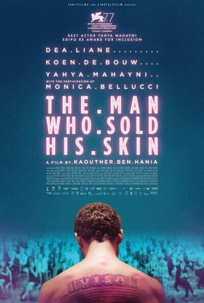 The Man Who Sold His Skin movie poster