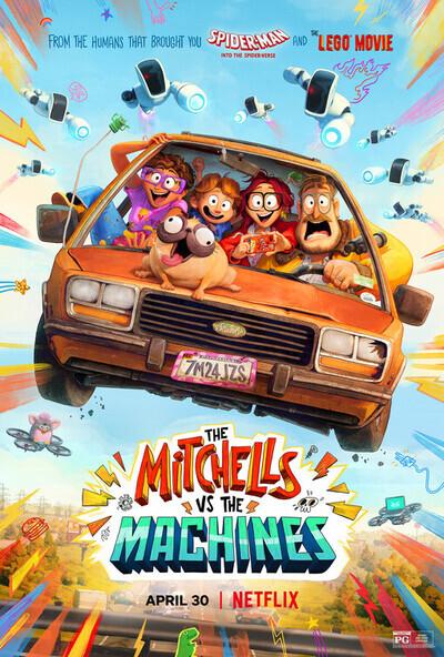 米切尔斯与机器电影海报